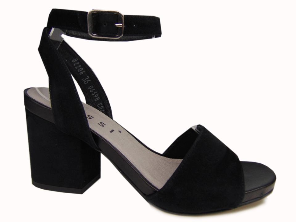 Sandały Nessi 82206 skóra złoty | Buty damskie na lato