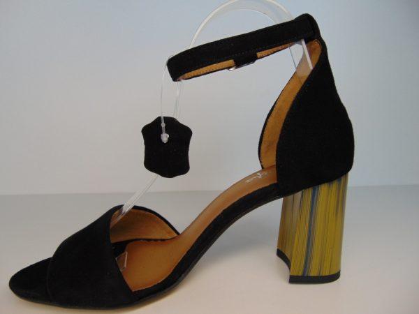 Sandały Maciejka 4144A- 01 skóra czarny