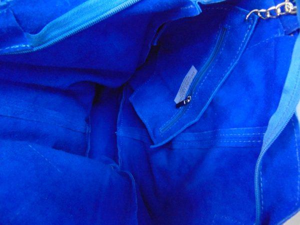 Borse in Pelle skórzana torebka khaki