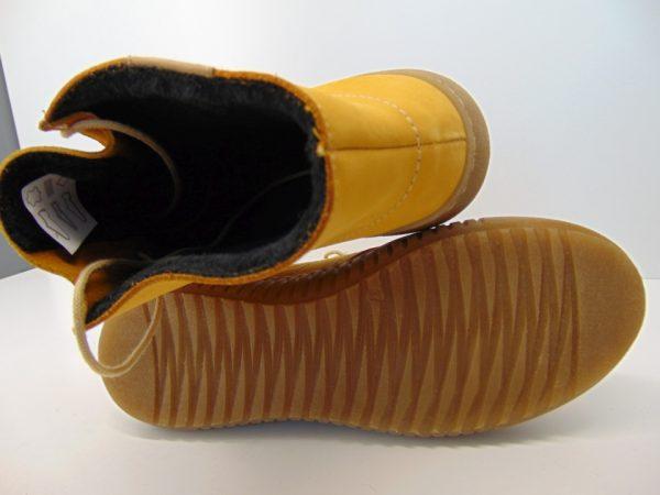 Rammit 1393 N-02 skóra nubuk żólty
