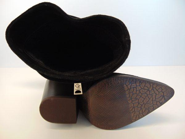 Kowbojki Carinii B5244-H20 skóra czarne