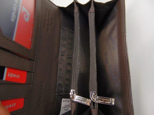 Portfel damski Pierre Cardin116 skóra lakierowana czarny