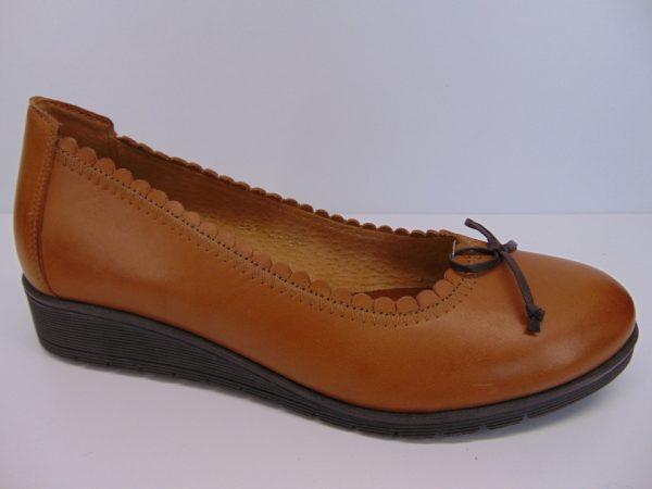 Półbuty Maciejka 04099-44 skóra lakier bordo