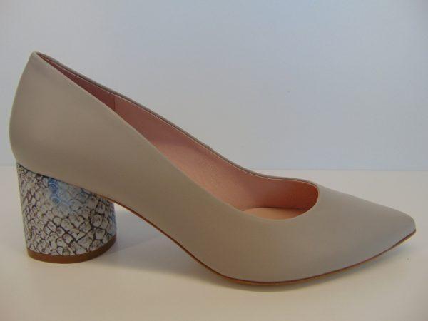 Czółenka Bravo Moda 1692 perła skóra