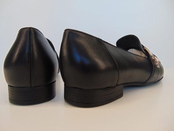 Półbuty Ryłko 2VP85VZ12 skóra lico czarne