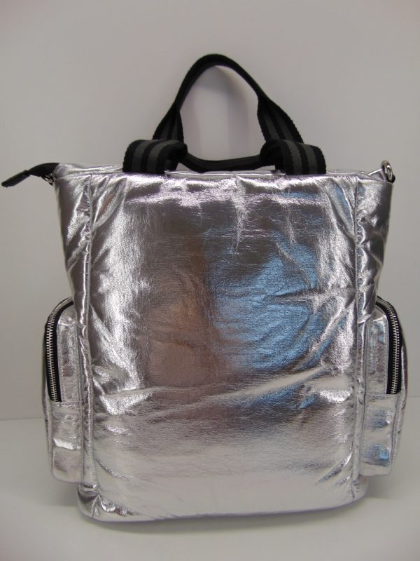 Torebka Monnari BAG3880 srebrna