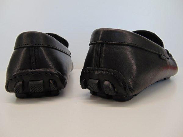 Mokasyny męskie Badura 3760 skóra lico czarne