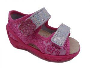 Befado 065X138 sandały dziewczęce różowe