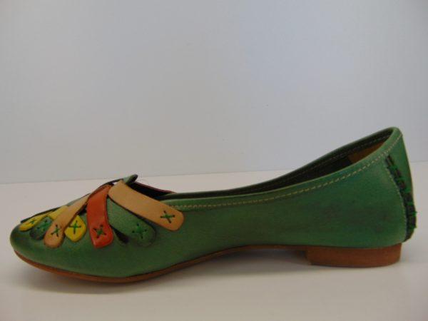 Baleriny Maciejka 01358-09 zielony