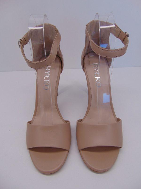 Sandały Ryłko 9DD85R3PY1F skóra beżowy