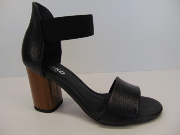 Sandały Ryłko 9DBF0R22F skóra czarny