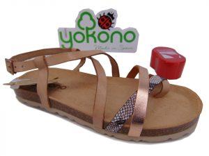 Yokono VILLA 060 hiszpańskie sandały multi natural