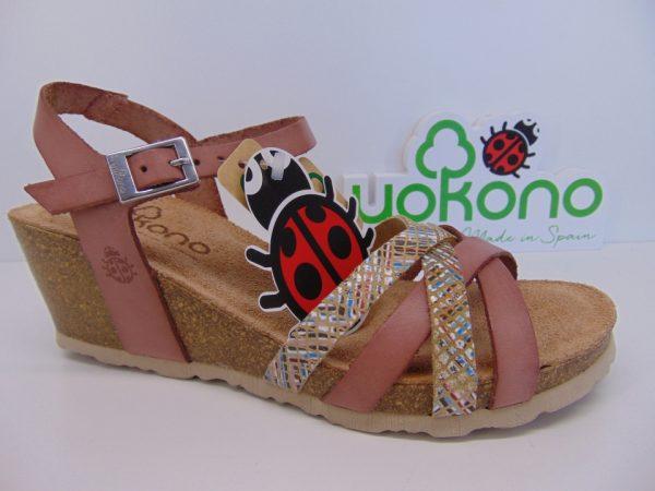Yokono FLOREN 001 hiszpańskie sandały fandagon/salomon