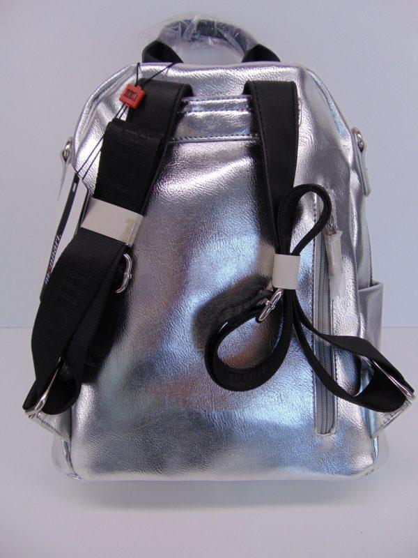 Plecak Monnari BAG3470 SREBRNY