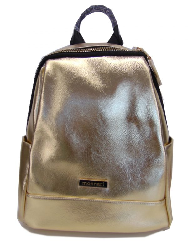 Plecak Monnari BAG3470 ZŁOTY