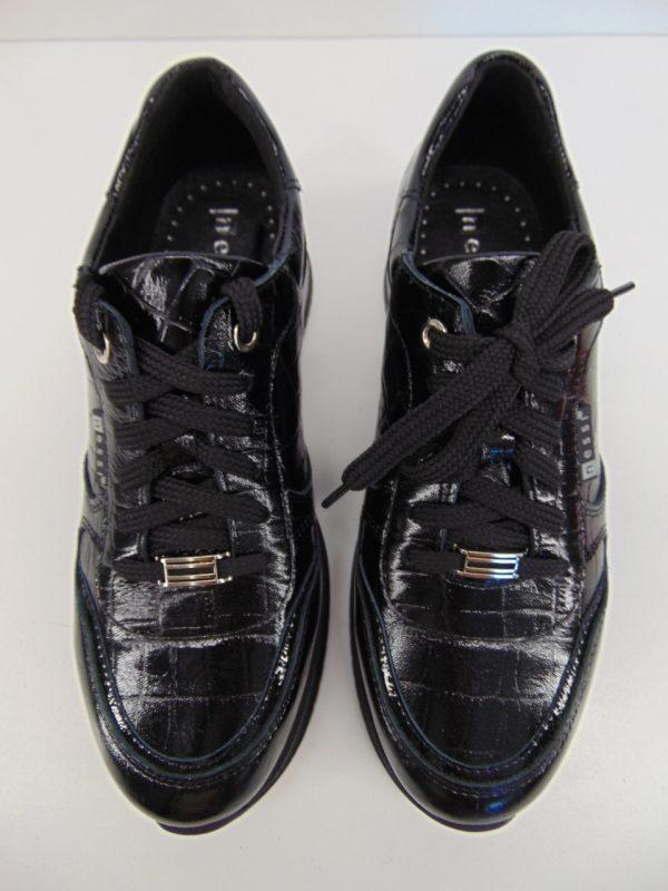 Półbuty sneakersy damskie Nessi 20771 czarny coco4
