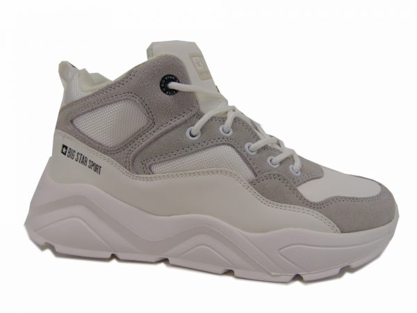 Sneakersy półbuty damskie Big Star 274643 białe