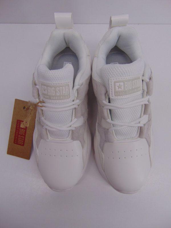 Sneakersy damskie Big Star 274635 białe