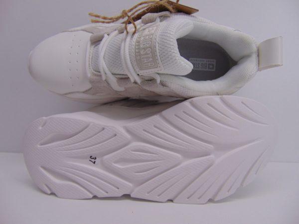 Sneakersy damskie Big Star GG274635 białe