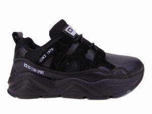 Sneakersy damskie Big Star 274636 czarne