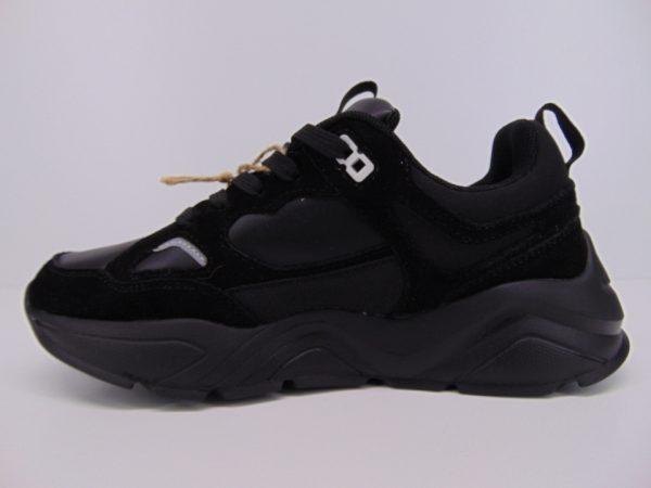 Sneakersy półbuty sportowe Big Star GG274654 czarne lico