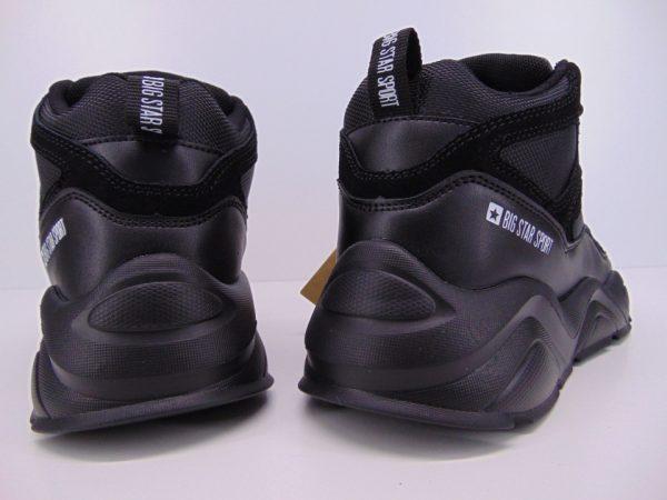Sneakersy półbuty damskie  Big Star 274644 czarne