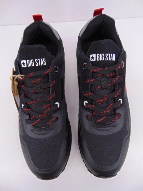 Półbuty męskie sportowe  Big Star 174181 czarne