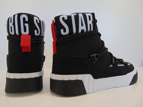 Śniegowce Młodzieżowe Big Star GG274400 czarne