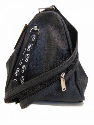 Torebka plecak Ryłko R30076TB2LR skóra czarna