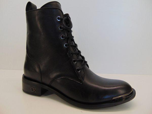 Botki Carinii B5559-E50 skóra lico czarny