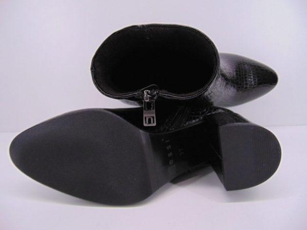 Botki Maciejka 04744 21 skóra czarne lico