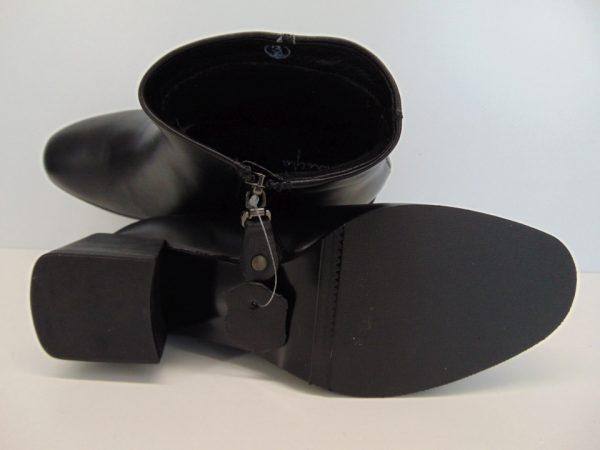 Botki Maciejka 04717 01 skóra licowa czarne