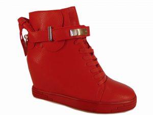 Sneakersy Sergio Leone 28788 Czerwony