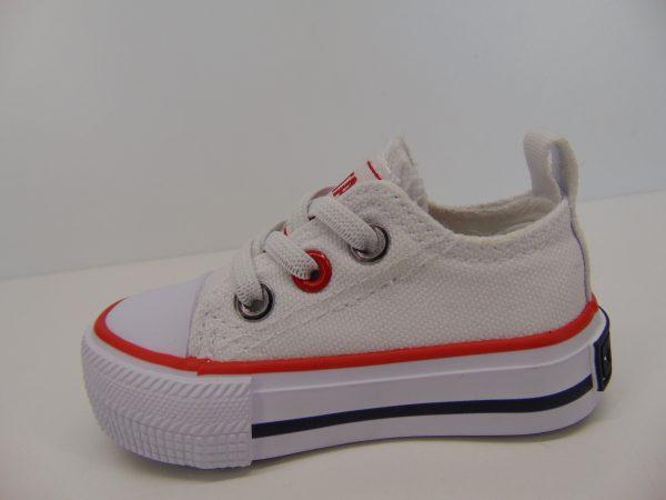 Dziecięce trampki Big Star HH374193 białe