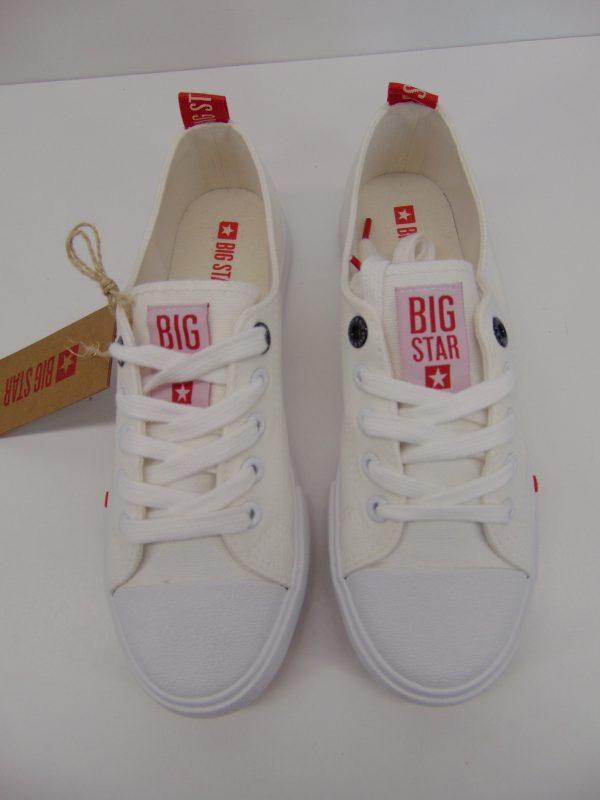 Trampki Big Star FF274087 białe