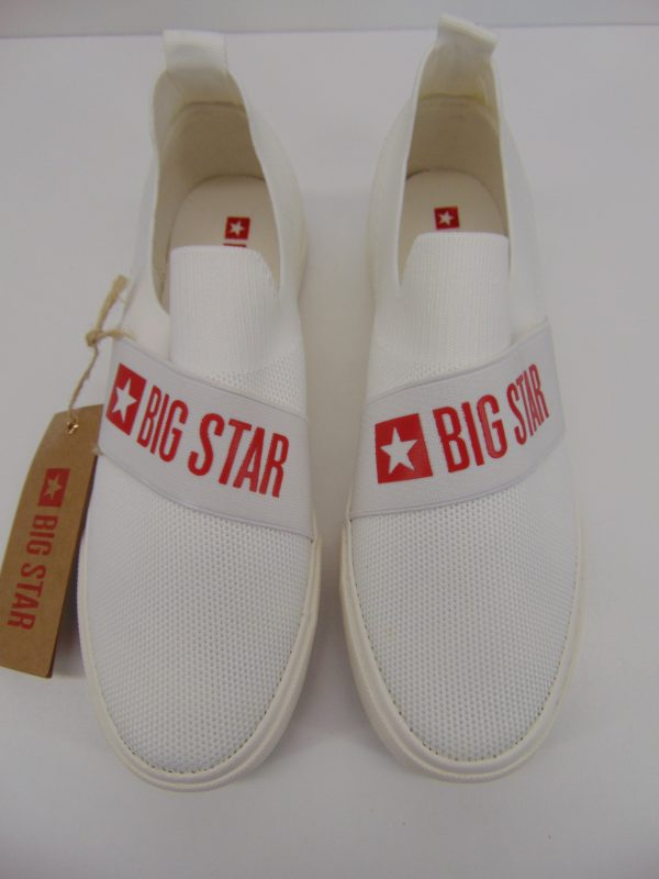 Tenisówki Big Star FF274219 biały