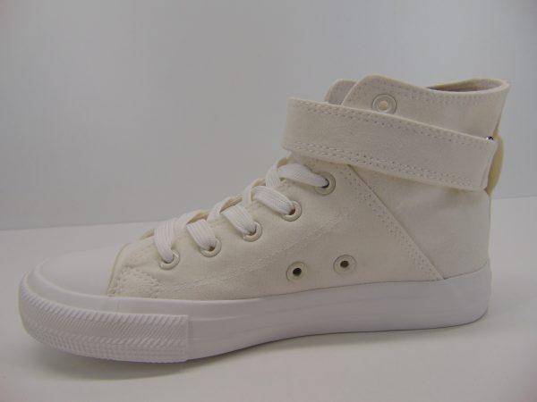 Trampki wysokie Big Star FF274579 biały