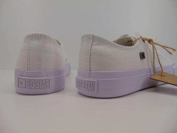Trampki Big Star AA274010 białe