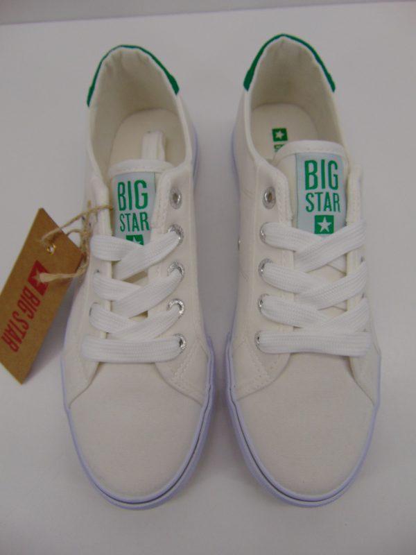 Trampki Big Star DD274893 biało zielony