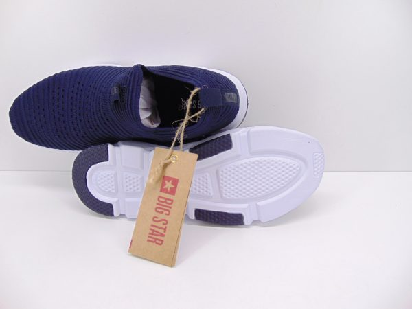 Sneakersy damskie Big Star DD274575 białe