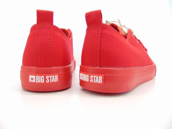 Trampki Big Star HH274677 czerwone
