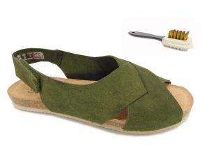 Yokono sandały damskie OASIS 075 SERRAJE khaki musgo