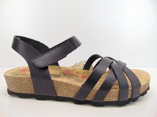 Yokono sandały damskie ISLA 007 VAQUETILLA negro czarne