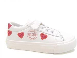 Big Star dziecięce półbuty sportowe HH374001 białe