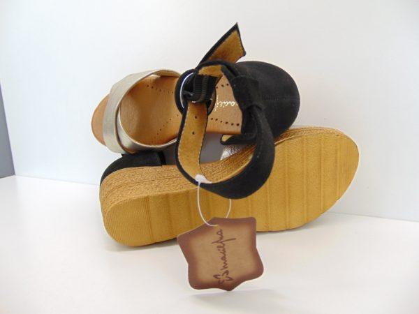 Maciejka sandały damskie 05004 20 czarny gad