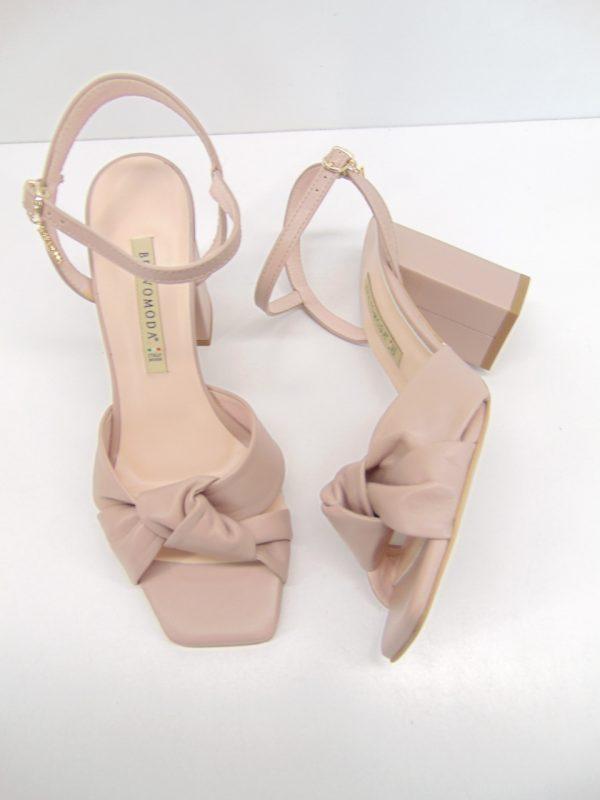 Nessi sandały damskie 21056 3 białe