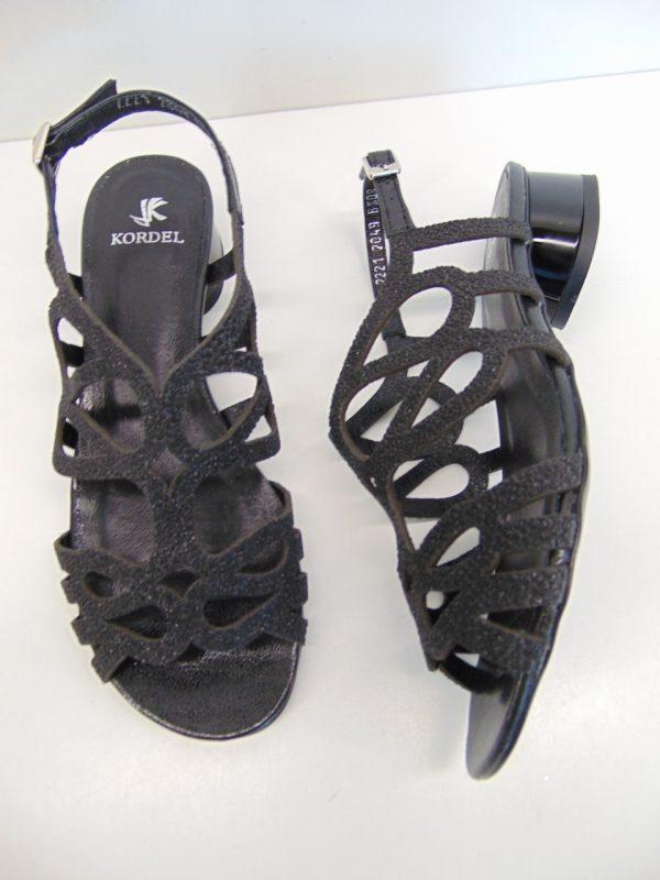 Kordel sandały 2049C/354/340 skóra złoty
