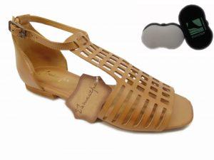 Maciejka sandały damskie 05169 29 rudy