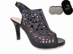 Kordel sandały 2020/C/345/299 skóra czarne