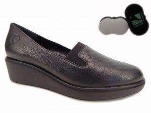 Ryłko sneakersy damskie 0ERK8 Z12F czarny lico